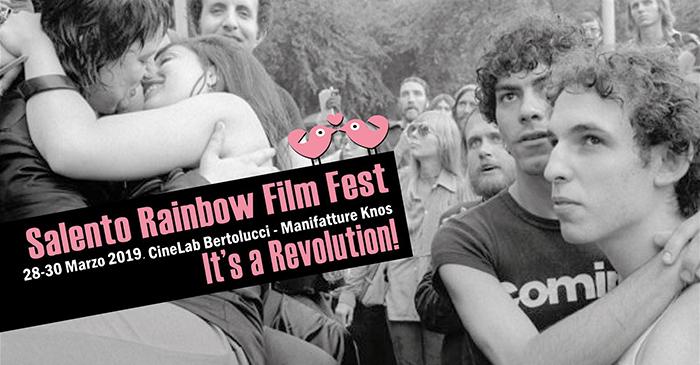 """Quinta edizione del Salento Rainbow Film Fest """"It's a Revolution!"""""""