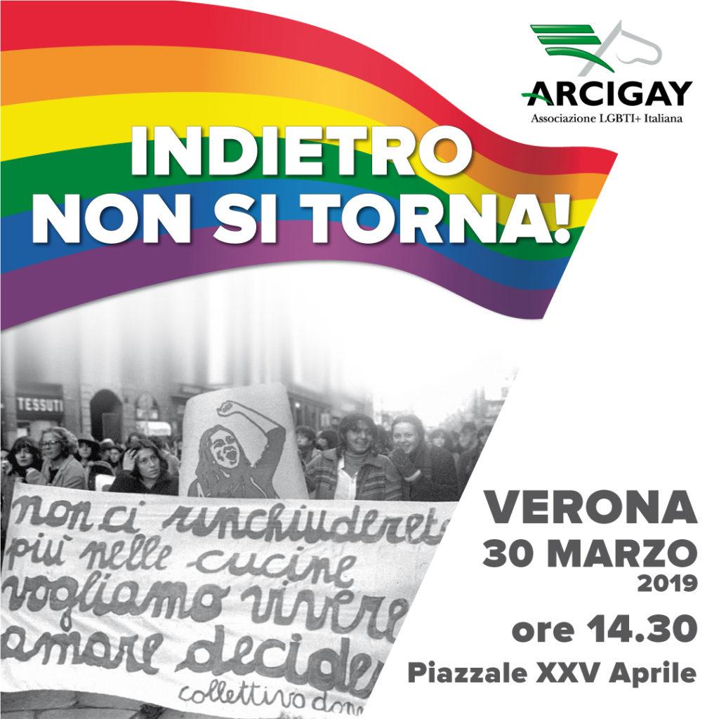 Verona manifesta contro il Congresso Mondiale delle Famiglie