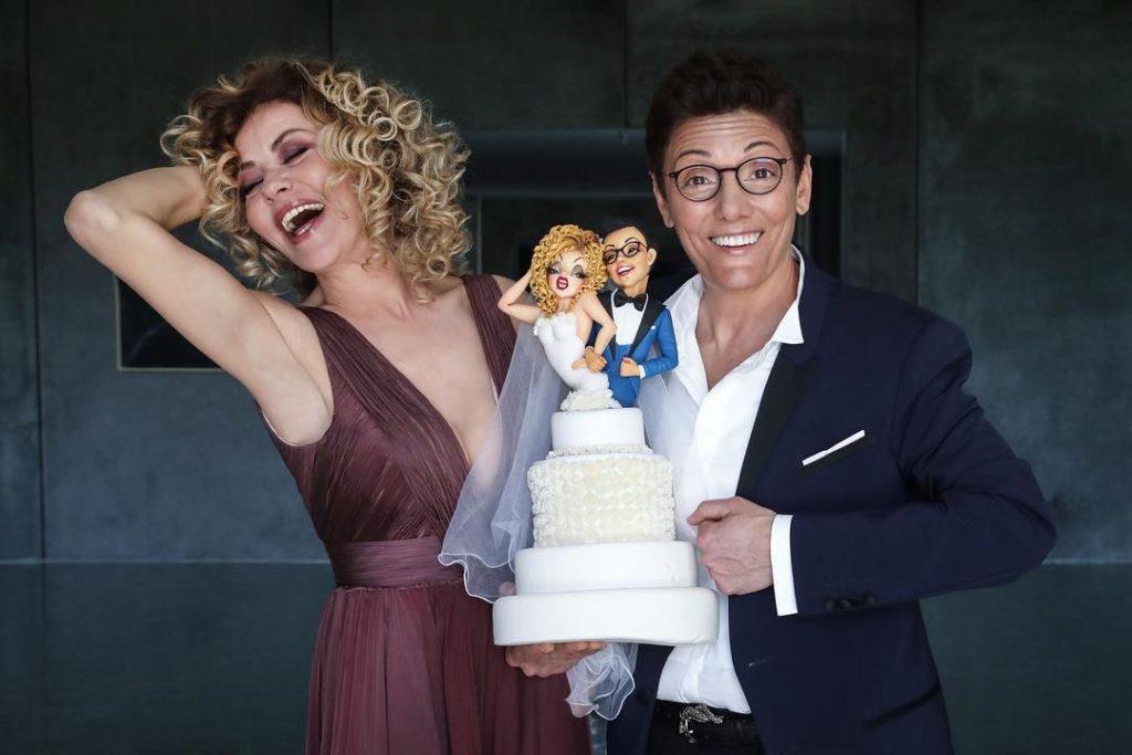 Eva Grimaldi e Imma Battaglia convolano a nozze