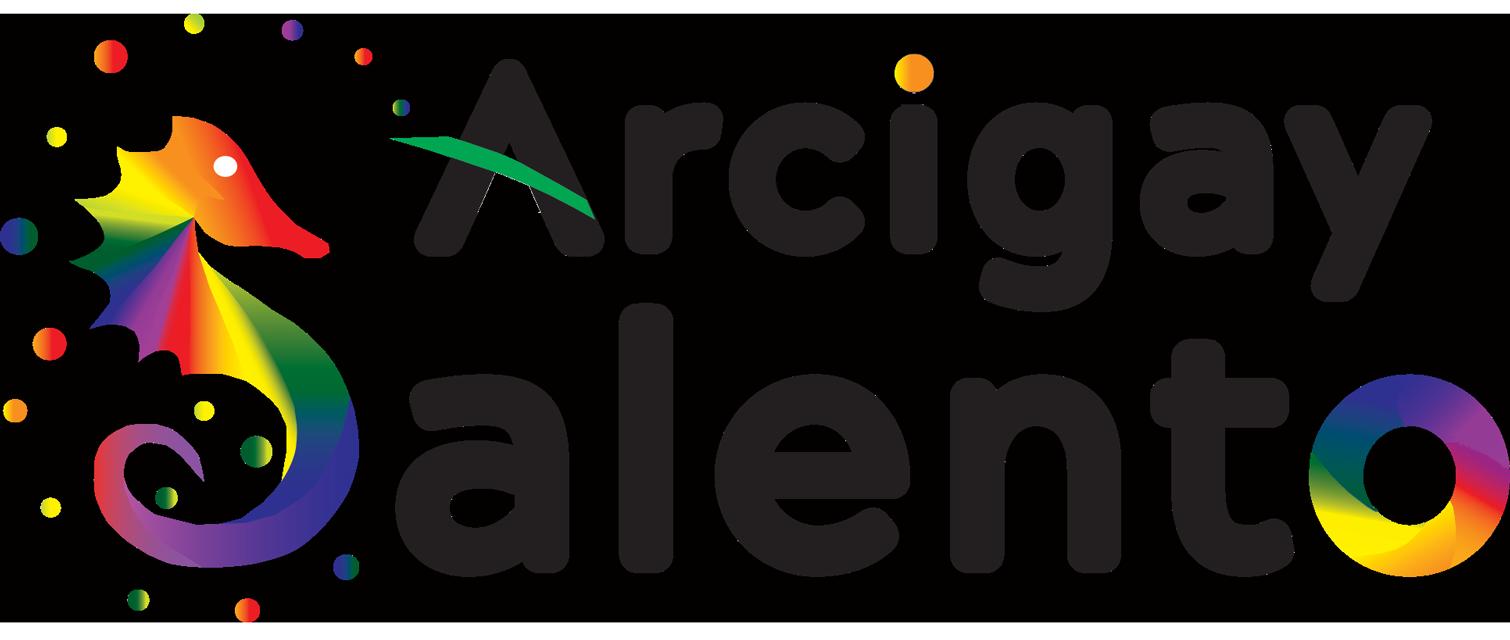 Logo Arcigay Salento versione Nera
